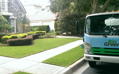 The answer to a beautiful lawn is simple… Bio Green.